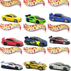 💥 Loose Hot Wheels Plastic Wheel Swap Fast And Furious Car Culture Track Racers💥