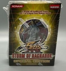Yugioh 5d's Storm Of Ragnarok Special Edition Factory Sealed Box English 3 Packs
