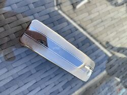 Vintage Chrome Plated Clothes Brush