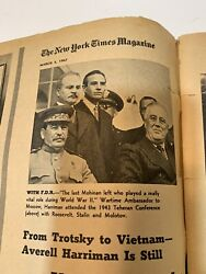The New York Times Magazine March 5 1967 Ambassador At Large