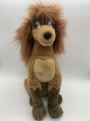 New W/ Tags Rare Vintage Disney Rita Plush Dog Oliver And Company Stuffed Toy 15andrdquo