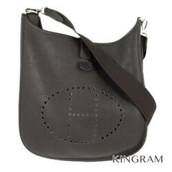 Hermes Evelyn 3pm Brown Leather Womenand039s Cross Body From Japan