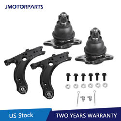 4pcs Front Lower Control Arm Ball Joints For Volkswagen Vw Golf Jetta Beetle