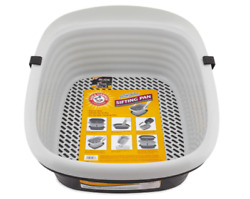 Large Sifting Cat Litter Pan Lift To Sift No Scooping Easy To Clean Waste