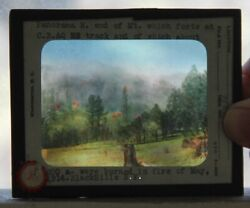 U S Forest Service / Group Of 13 Glass Lantern Slides Largely Of Medicine Bow