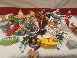 Lot Of Vintage Disney Animaniacs Fast Food Toys Mixed 4 Pounds