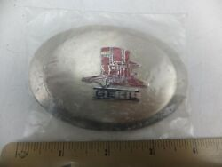 Vintage Gehl Company 135 Feed Grinder Mixer Tractor Agriculture Belt Buckle