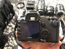 Canon 5d Mark Ii Used W/lenses And Accessories
