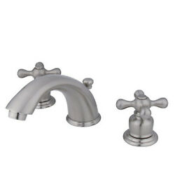 Kingston Brass Two Handle 4 To 8 Mini Widespread Lavatory Faucet With Retail Pop