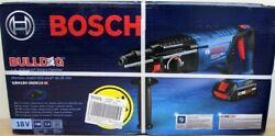 Bosch Bulldog Core 18v 1 Sds-plus Rotary Hammer Drill, Battery And Charger Gbh18v