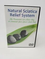 Natural Sciatica Relief System Eliminate Lower Back Pain Dvd Set Free Shipping