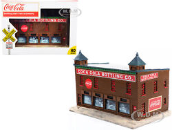 Coca-cola Bottling Co. Building 1/87 Ho Model By Classic Metal Works Tc114