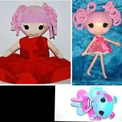Lot Lalaloopsy Full Doll Mittens Fluff Build A Bear Jewel Sparkles 20 Butterfly