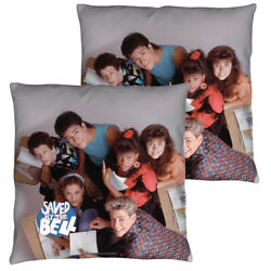 Saved By The Bell Group Shot Double Sided Throw Or Body Pillow