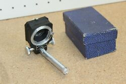 Vintage Film Camera Fold-up Bellows Piesker And Co Berlin Germany