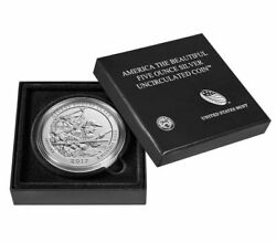 2017-p Atb 5 Oz George Rogers Clark America The Beautiful Five Ounce Silver Coin