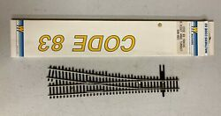Walthers Train Track Code 83 5 Right Hand Turn-out 948-892 Nip