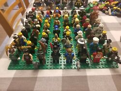 Lego Minifigure Lot Over 325+ Starwars Toy Story Marvel Dc Xtras Huge Lot