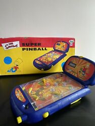 Official The Simpsons Bart Electronic Super Pinball - Table - Tested And Working