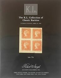 Two Robert Siegel Rarites Auctions, Strong British Incl Canada Pence Covers