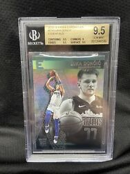 Luka Doncic Rc 2018-19 Panini Chronicles Essentials 214 Bgs 9.5 Holo A13