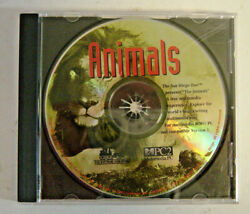 San Diego Zoo Animals Multi-media Experience Pc Cd Mpc2 1992 Software Toolworks