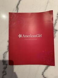 American Girl Doll Gift Card Folder And Store Spring Event Catalog The Grove La