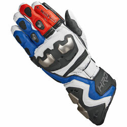 Held Titan Rr Moto Motorcycle Motorbike Leather Gloves Blue / Red / White