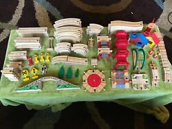 Thomas And Friends Wooden Railway Track Lot 120+ Pieces