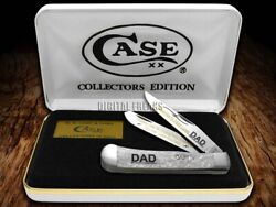 Case Xx Trapper Knife Daughters First Love Dad White Pearl 2 1/500 Stainless