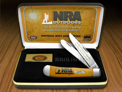 Case Xx National Rifle Association Outdoors Nra Persimmon Trapper Knife Proto