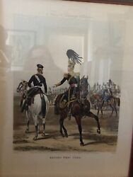 W. King Ambler Second West York Foresandrsquos Yeomanry Costumes Plate 6