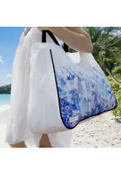 Large Beach Bag with Zipper amp; Pockets XL Canvas $9.45