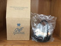 Avon Spring Melodies Salt And Pepper Shakers Decorative Wire Basket Nib