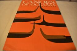 Canoes Of Oceania By J. Hornell And A. C. Haddon Trade Paperback 1975