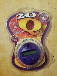 20q Purple Electronic Handheld Game Radica Changes Color - New/sealed P3886