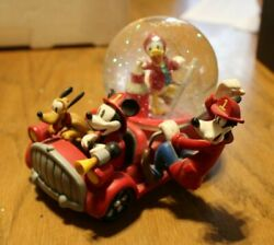 Mickey And Co. Where's The Fire Snow Globe Sr