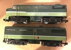 Aristocraft G Scale Art-22028and 22078 Alco Faandfb Northern Pacific Mainstreet Ob