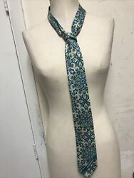 Mcdonalds Green Paisley Print 2016 Manager Tie