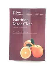 New Factory Sealed The Great Courses Nutrition Made Clear Factory Sealed