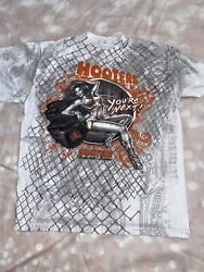 Hooters Shirt Las Vegas Hotel Girl Youand039re Next Sexy Ring Girl Graphic Tee Large