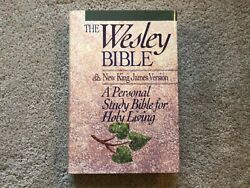 The Wesley Bible - New King James Version - Personal Study/holy Living Hcdj 1990
