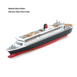 11400 Queen Marry Passenger Cruise Liner Steamship Alloy Plastic Ship Model Toy