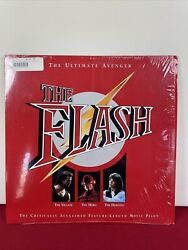 Vintage 1992 Laserdisc The Flash Feature-length Movie Pilot Stereo Extended Play