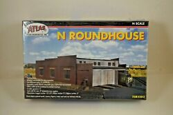 Nos Atlas 3 Stall Roundhouse N Scale Building - 2843
