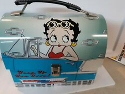 5 Betty Boop Items 2 Lunch Boxes, 1 Music Box, 1 Hand Game, 1 Bubble Bath.