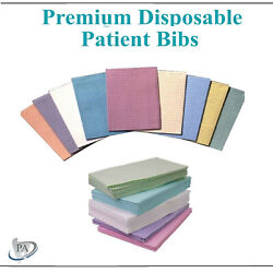 Dental Disposable Bibs Patient Towels Sigle Use Towels 18x13, Pick Color And Qty