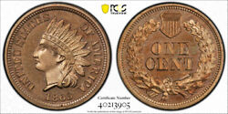 1863 1c Proof Indian Head Cent Pcgs Pr 64 Cac Approved Exceptional Coin