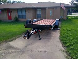 18and039 Car Trailerandnbsp W/ramps Local Pickup Only