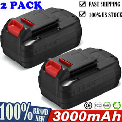 For Porter Cable 18 Volt Max 4.0ah Lithium-ion Battery Pcmvc Pc18bl / Charger